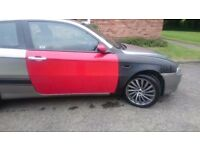 2009 alfa romeo 147 1.6 petrol Needs painting