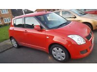 Suzuki SWIFT 1.3 Red Colour 2009 (Reg) 5dr Hatchback