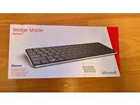 Microsoft Wedge Mobile Bluetooth Wireless Keyboard