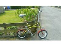 Folding zig zag bike