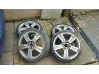 17 inch wolfrace alloys ford Peugeot 4x108