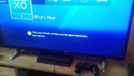 Ps4 with 500gb storage and 4 games as seen in pictures. Perfect working order bought early this year