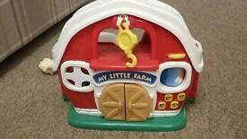 My little farm playset