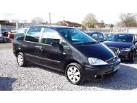 Ford Galaxy 1896cc Diesel, 7 Seater, 2005(55), Manual Black, MotExpires: 29 January 2017