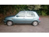 Nissan Micra 2002 auto for parts