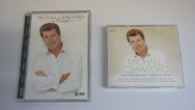 Michael Crawford In Concert DVD and Ultimate Collection CD