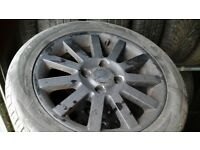 Volvo s 16 inch 4 stud alloys, 205 50 16 tyres