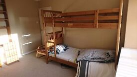 One furnished bedroom in 3 bedroom house