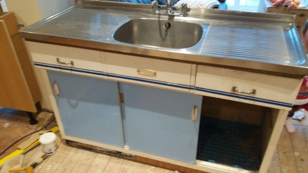 For Sale 100 1960s Retro Vintage Ladylove Sink Kitchen Unit