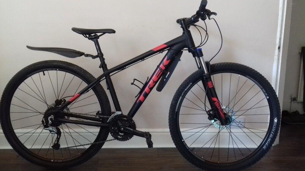 cfeaded2a5e Trek Marlin 7 2017 Mountain Bike (29er) 17.5 Black / Red | in Trafford ...