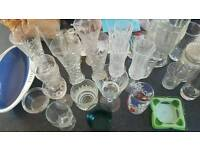 Selection of mixed glassware
