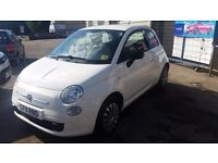 fiat 500 11 plate long mot and very low mileage only 52000