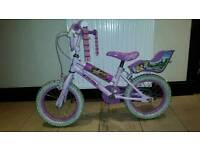 "Girls Disney Princess Bike - 14"""