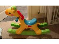 Music and Light Up Rocking Horse