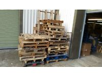 Lots of pallets free to collector