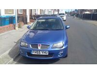06 rover 25 mint low milege