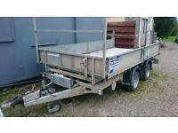 Ifor williams tt126 3.5t 12 by 6'6 tipper tipping trailer