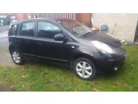 NISSAN NOTE 2008(58) 1.4 ACENTA 5 DOOR MOT EXP ON 12.06.2017 WARRANTED MILES HPI CLEAR CLEAN CAR