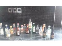 Miniature bottle collection - free to collect