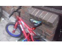 Boy spiderman bike