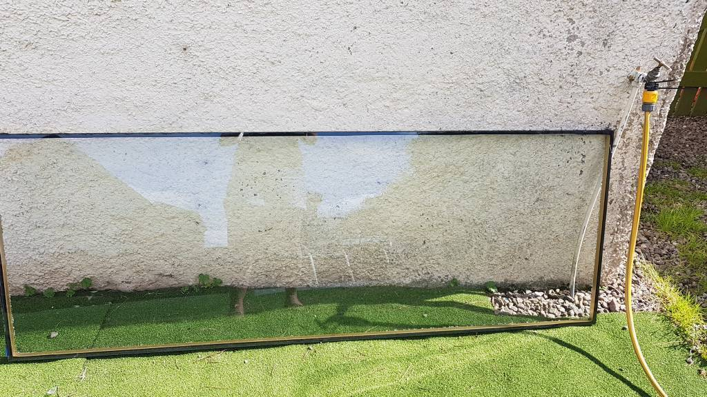 Single Glaze Glass For Patio Door Damaged In Auchterarder Perth