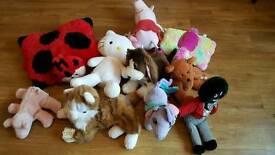 Job lot of teddies