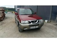 breaking red nissan terrano auto 4x4 parts spares