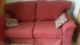 Terracotta Sofa Bed
