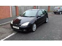 2003 FORD FOCUS ST 170 GREAT CONDITION FULL MOT NICE LOOKING CAR