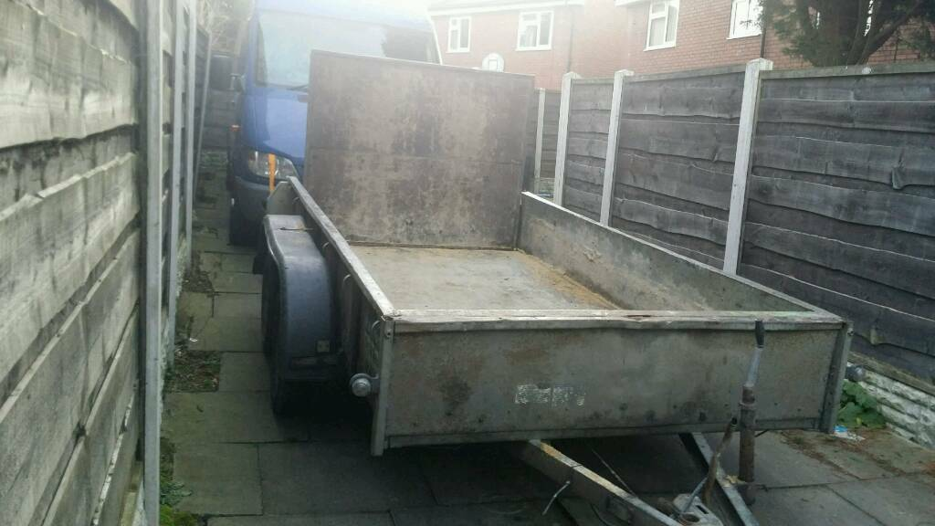 IFOR WILLIAMS GD105 BUILDERS PLANT TRAILER