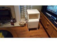 Vintage Retro Bedside Cabinet SidecTable LEBUS Maker Bathroom Cabinet Side Table