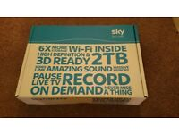 SKY HD ON DEMAND 2TB SKY BOX WITH WI FI BUILT IN-£45