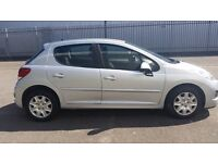 2011 Peugeot 207 . 1.4 Manual petrol. Low mileage only 43000