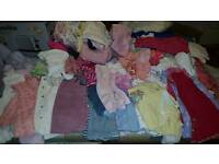 huge amount of 3-6 mths girls clothes