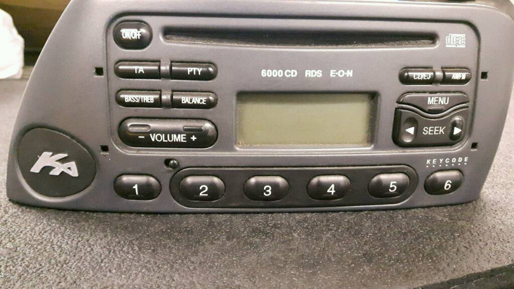 Ford Ka Radio Cd Player  Rds