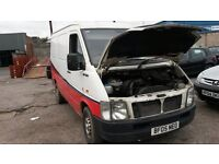 BREAKING VW LT32 95 2.5 TDI SWB 2004 MANY PARTS AVAILABLE