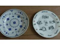 Hand painted dishes