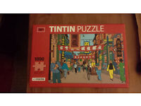 TINTIN PUZZLE - 1000 PIECES