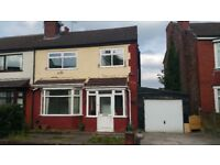 3 bed semi detacttched house for rent M8 area