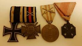 ww1 german original medals set