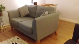 !!! BLUE SOFA - AS GOOD AS NEW BARELY USED !!!
