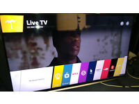 "LG 50"" 4K ULTRA HD SMART LED TV WITH FREEVIEW HD, FREESAT HD & WARRANTY"
