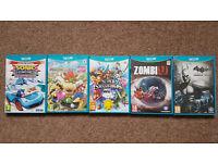 Super Smash Bros, Mario Party 10, Batman, Super Sonic Transf, Zombie U