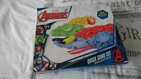Avengers quick sand