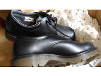 Mens formal shoes Dr Martin's UK size 9 Black.