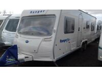 FIXED BED 6 BERTH TWIN AXLE SOUGHT AFTER 2008 BAILEY 6/20. LOVELY CONDITION. READY FOR HOLIDAYS