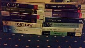 Law Books (LLB Law Degree Pack)