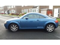 Electric Blue Audi TT 2001, 1.8, 225BHP