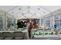 Sunshine Marquee Hire - Party tents - gazebo - tables - chairs