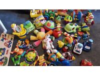 Collection of Childrens Toys from Age 0 to 3 years